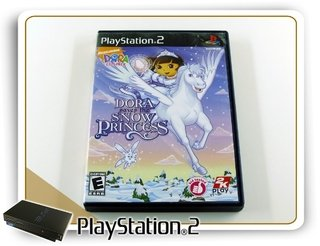 Dora Saves The Snow Princess Original Playstation 2 Ps2