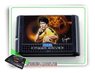 Dragon The Bruce Lee Story Sega Mega Drive - Novo