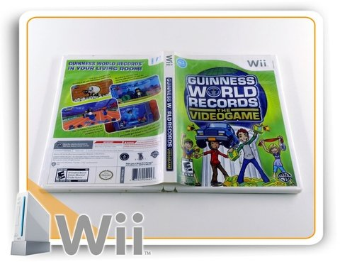 Guinness World Records The Videogame Original Nintendo Wii - comprar online