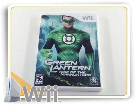 Green Lantern Rise Of The Manhunters Original Nintendo Wii