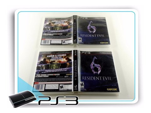 Resident Evil 6 Original Playstation 3 Ps3 na internet