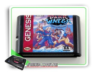 The Pirates Of Dark Water Sega Mega Drive /genesis -genérico