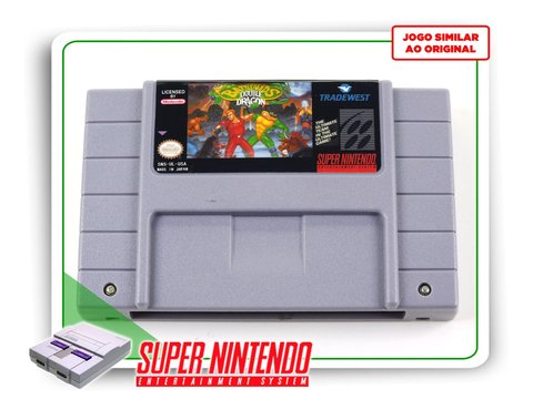 Battletoads & Double Dragon Super Nintendo Snes - Novo