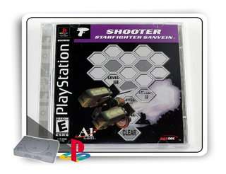 Shooter Starfighter Sanvein Original Playstation 1 Ps1