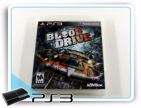 Ps3 Blood Drive Original Playstation 3