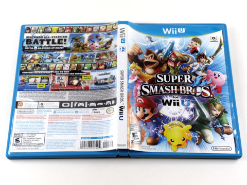 Super Smash Bros Wiiu Original Nintendo Wii U na internet