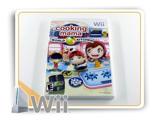 Coking Mama World Kitchen Original Nintendo Wii