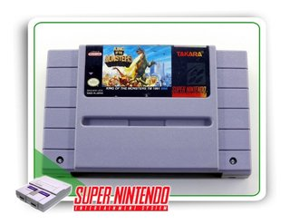 King Of Monsters Original Super Nintendo Snes