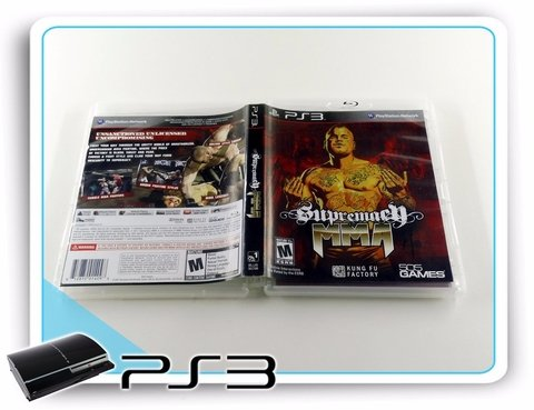 Supremacy Mma Original Playstation 3 PS3 - comprar online