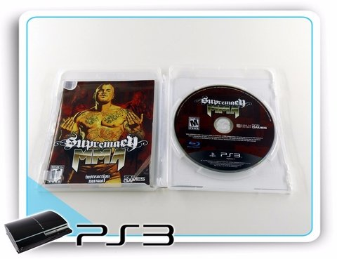 Supremacy Mma Original Playstation 3 PS3 na internet