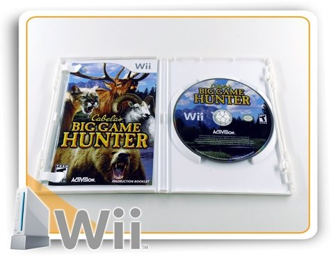 Cabelas Big Game Hunter Original Nintendo Wii na internet
