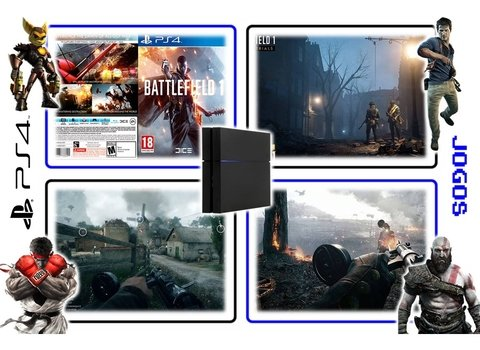 Battlefield 1 Original Ps4 Playstation 4 - Mídia Física - Radugui Store
