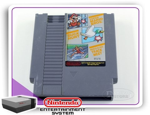 Mario Bros, Duck Hunt, World Class Track Meet Nes Original