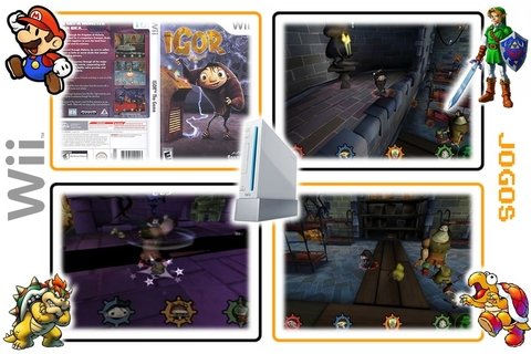 Igor The Game Original Nintendo Wii - Radugui Store