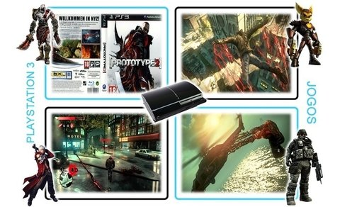 Prototype 2 Com Box Original Playstation 3 PS3 - loja online
