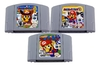 Kit Mario Party 1 2 3 Nintendo 64 N64 - Novo Salvando
