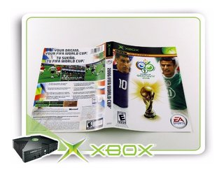 Encarte Fifa World Cup Germany 2006 Original Xbox Clássico
