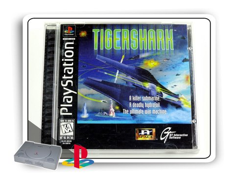 Tigershark Original Playstation 1 Ps1