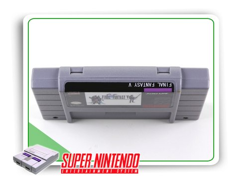 Final Fantasy 5 Super Nintendo Snes - Novo Com Save - comprar online
