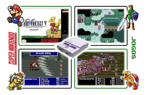 Imagem do Final Fantasy 5 Super Nintendo Snes - Novo Com Save