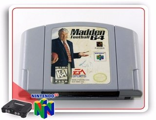 Madden Football 64 N64 Nintendo 64 Original