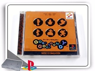 Goo Goo Soundy Music Cd Simulation Jap Playstation 1 Ps1