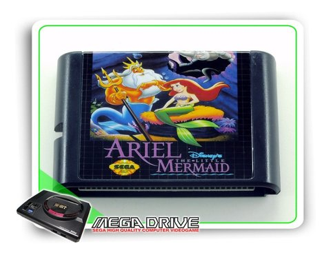 Ariel The Little Mermaid Sega Mega Drive / Genesis -genérico