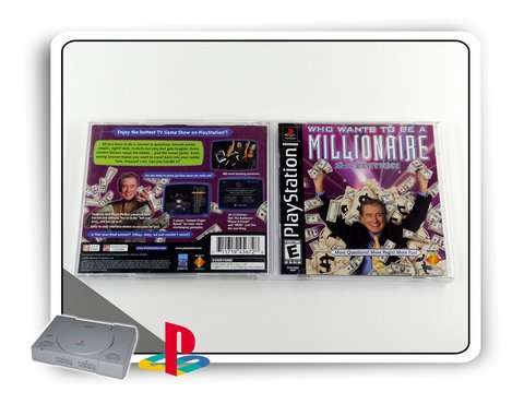 Who Wants To Be A Millionare 2nd Ed. Orig. Playstation 1 Ps1 na internet