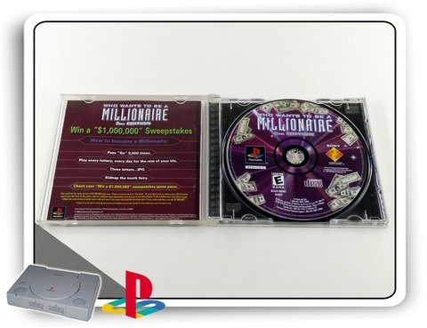 Ps1 Who Wants Be A Millionaire 2nd Ed. Orig. Playstation 1 na internet