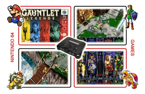 Imagem do Gauntlet Legends Nintendo 64 N64 - Americano Novo