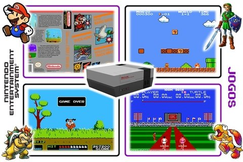 Mario Bros, Duck Hunt, World Class Track Meet Nes Original - loja online