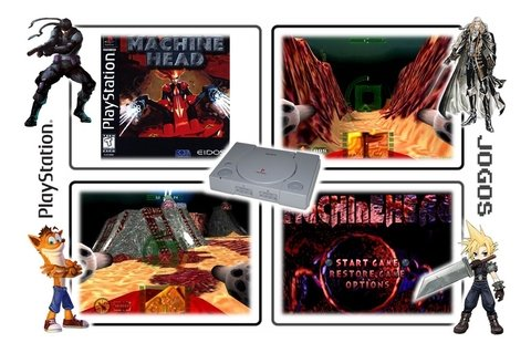 Machine Head Original Playstation 1 Ps1 - loja online