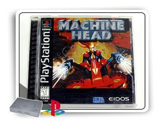 Machine Head Original Playstation 1 Ps1