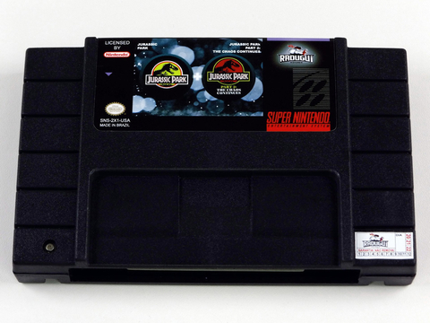 Jurassic Park Collection - 1 E 2 Super Nintendo Snes