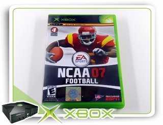 Ncaa Football 07 Original Xbox Clássico Ntsc