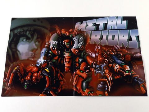 Imagem do Metal Warriors Super Nintendo Snes, Completo Novo