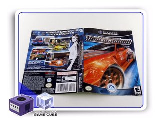 Encarte Need For Speed Underground Gamecube Original