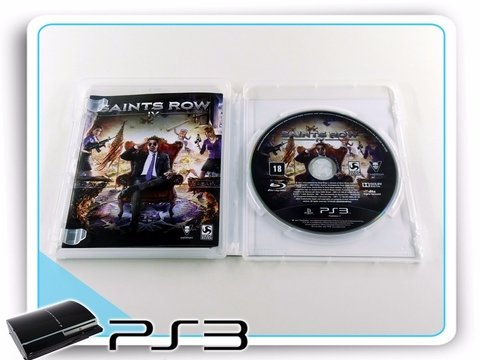 Saints Row 4 Commander In Chief Edition Playstation 3 Ps3 na internet