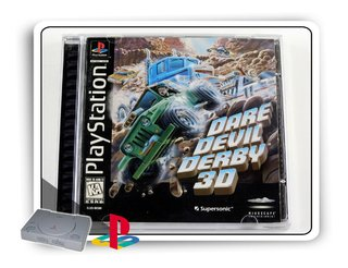 Dare Devil Derby 3d Original Playstation 1 Ps1