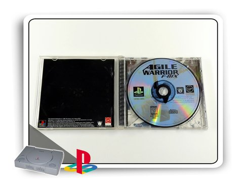 Agile Warrior F-iiix Original Playstation 1 Ps1 - comprar online