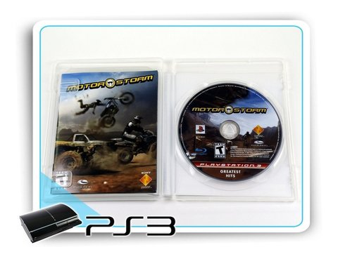 Motor Storm Original Playstation 3 Ps3 - comprar online