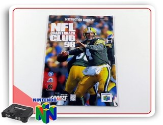 Manual Nfl Club 98 Original Nintendo 64 N64