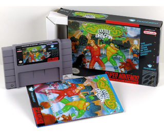 Battletoads And Double Dragon Super Nintendo, Completo Novo