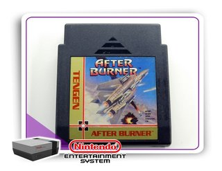 After Burner Original Nintendinho Nes 8-bits