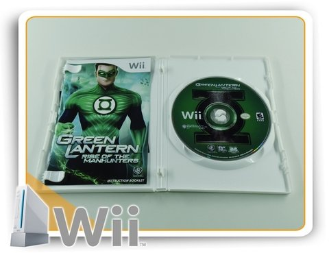 Green Lantern Rise Of The Manhunters Original Nintendo Wii - comprar online