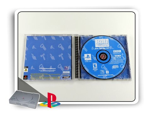 Bob The Builder Can We Fix It Original Playstation 1 Ps1 - comprar online