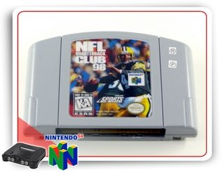 Nfl Quarterback Club 98 Nintendo 64 Original N64