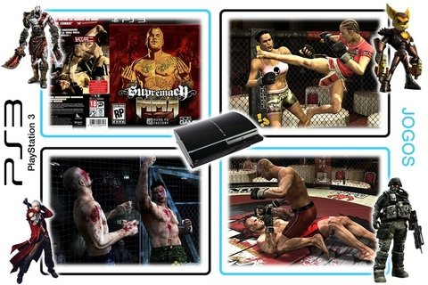 Supremacy Mma Original Playstation 3 PS3 - Radugui Store