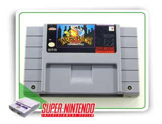Were Back A Dinosaur Story Original Super Nintendo Snes