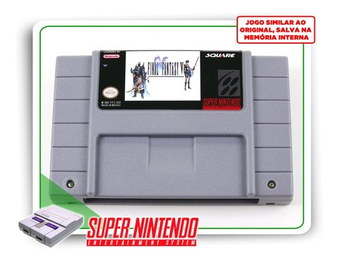 Final Fantasy 5 Super Nintendo Snes - Novo Com Save